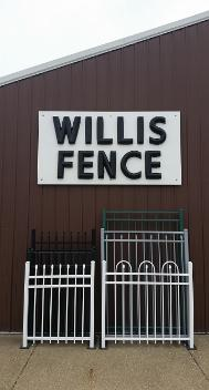 Willis Fence Co office in Newburgh, Indiana